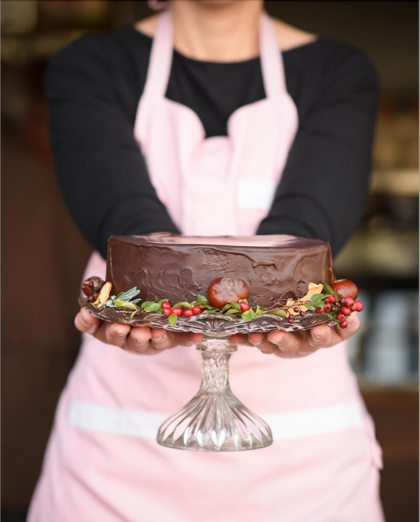 cukrarna u haje dort podzimni v ruce